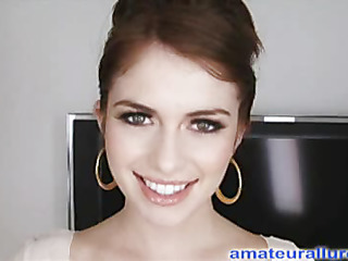 Miley is 18 years old, very cute and this babe has returned for her first cum facial ever! This is the second time Miley has visted AmateurAllure.com, and I am going get my discharged at her this time. This Babe has an amazing, constricted body and
