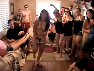 Girls getting rammed by many males at private hadcore party