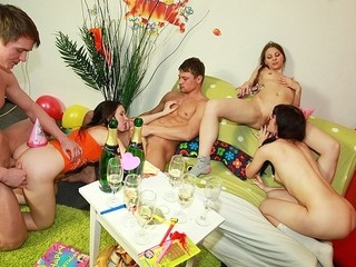 What do birthday cake and student blow job have in common? U'll find the answer in..