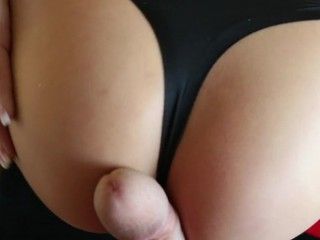 After having dick betwixt her cheeks Aleksa wants a engulf.