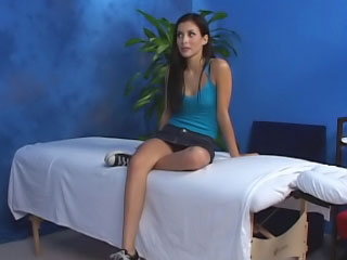 Gorgeous cute legal age teenager wish hard sex after hawt massage
