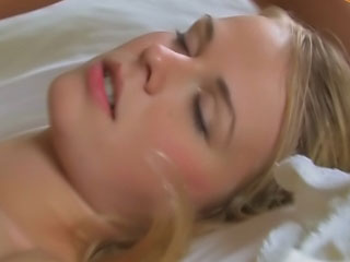 2 sweet lesbian nubiles groan with vagina licking joy