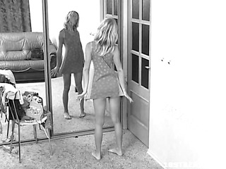 Tonight, we have a hidden camera episode of a blond legal age teenager honey named Liza. It records everything as that babe changes outfits. The result is a very hawt episode scene of this legal age teenager and her hawt body. We get to watch as that babe poses in front of the mirror, admiring her own natural girl previous to this babe finishes changing.