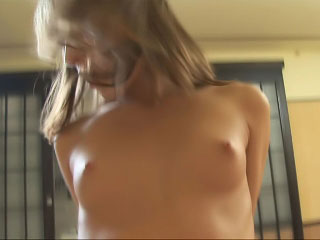 Sexy dark brown showing her hot body previous to a large dick banging