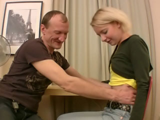 Impressive sexy chick getting anal gaped by 2 mighty guys