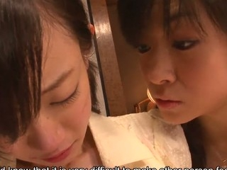 School beauty Aoba Itou gets into a nasty threesome with her boss and his wife and..